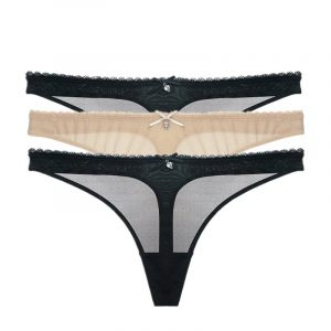 Transparent low-rise G-string Lingerie Thongs Knickers